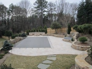Virginia swimming pool project